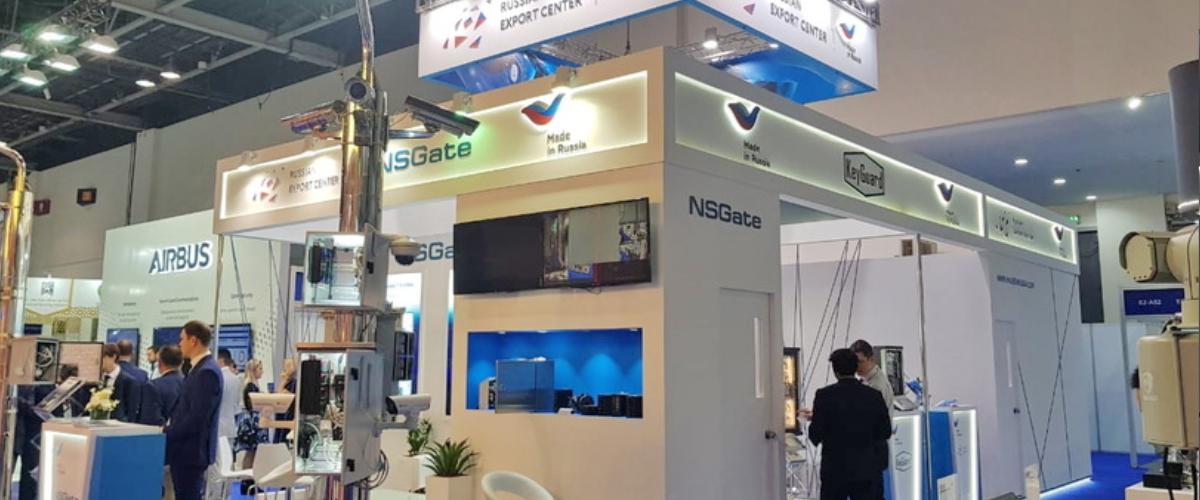 Российская экспозиция на выставке INTERSEC 2019 в Дубае