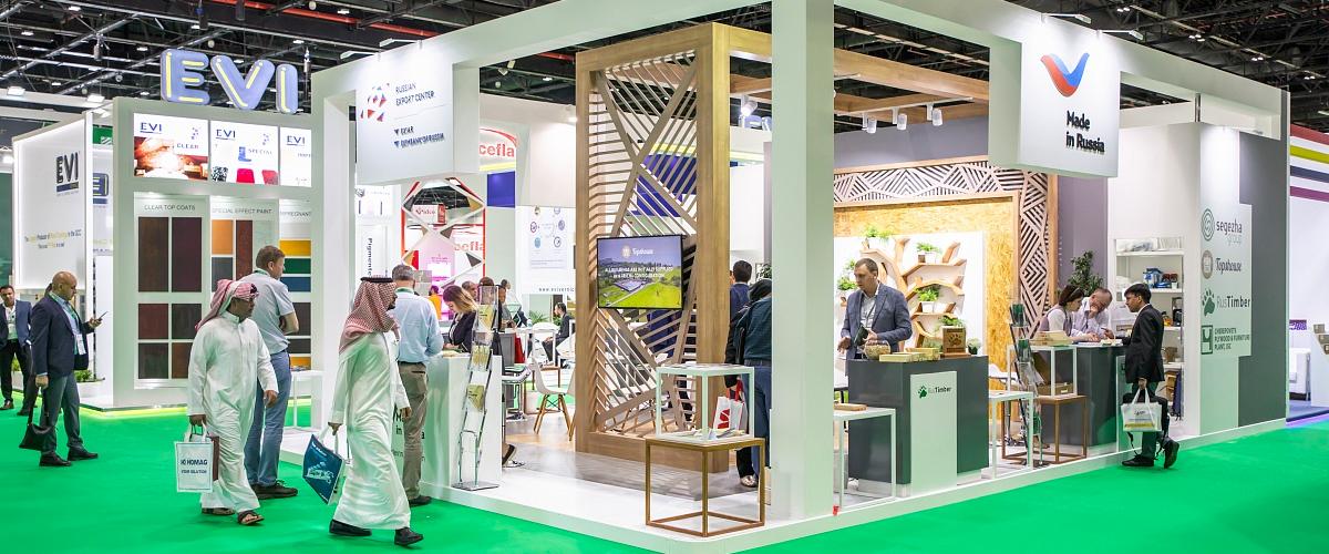 Продукция Segezha Group успешно представлена на XV международной выставке Dubai WoodShow - 2019