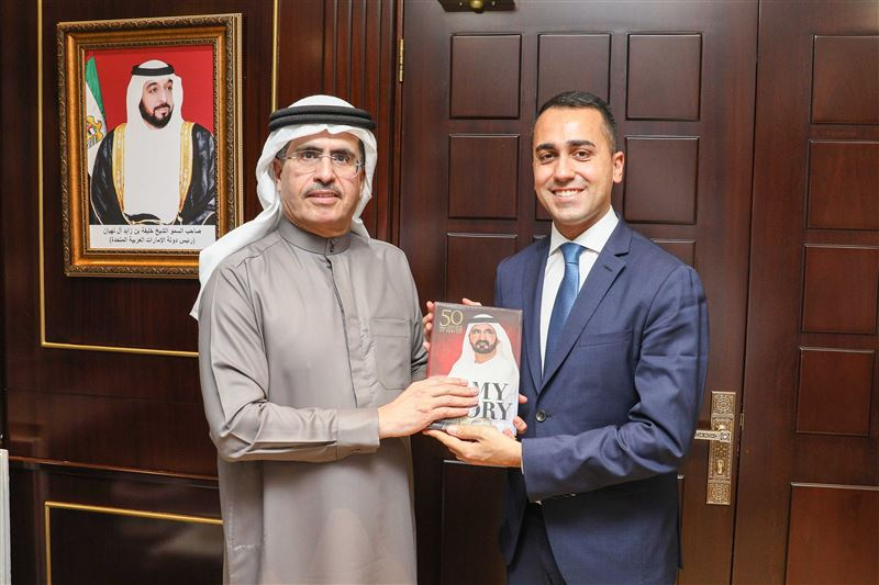 Italian Deputy Prime Minister visits DEWA and reviews its leading projects