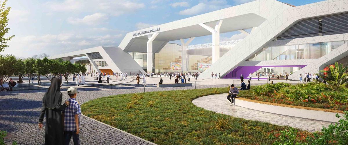 he Dubai Exhibition Centre (DEC)
