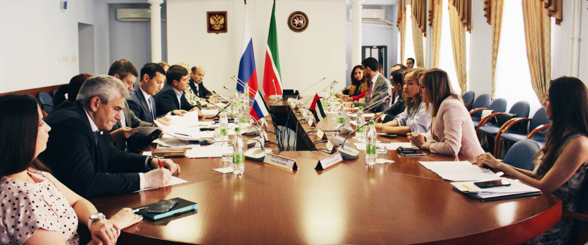 Kazan hosted a business meeting with representatives from Dubai